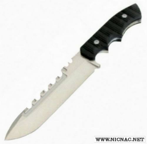 Brous Blades - Coroner Fixed Blade Knife