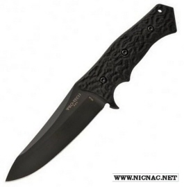 Protech Spindrift SD3 Fixed Blade knife Black G-10 handle DLC Black
