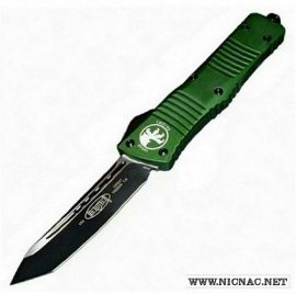 microtech combat troodon 144-1 odt tactical standard olive drab green otf automatic knife